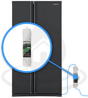 Filtre Frigo WSF100 v2 Magic Water Filter Samsung